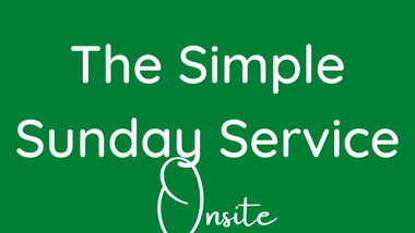 Simple Communion Service 6th Sept Prayers and Reading