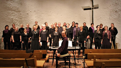 Gospelkoncert ved Good Time blev afholdt i  Ejstrup kirke mandag d. 30. sept. 2019