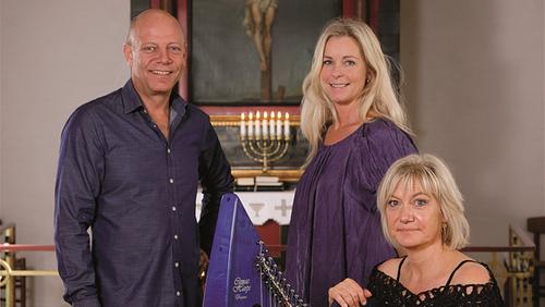 Julekoncert i Ejstrup kirke v/ Den Unikke Trio blev afholdt 1. dec. 2019