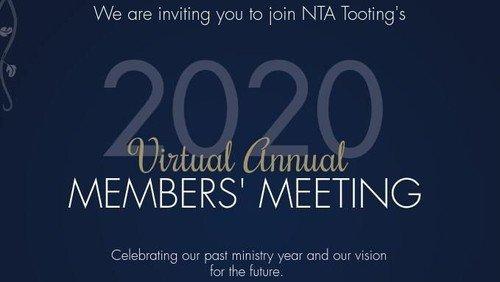 Virtual Annual Members Meeting 2020