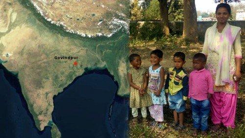 Kooperation mit Govindpur (Indien)