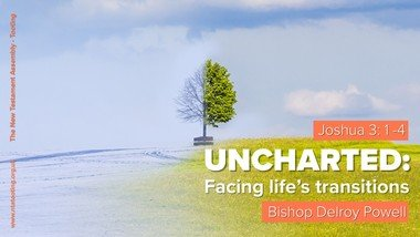 Sunday Sermon - Uncharted: Facing Life's Transitions