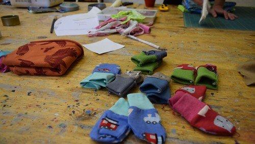 Babys in Not - Kleidung nähen, Stoffe spenden? - KreativFabrik unterstützt