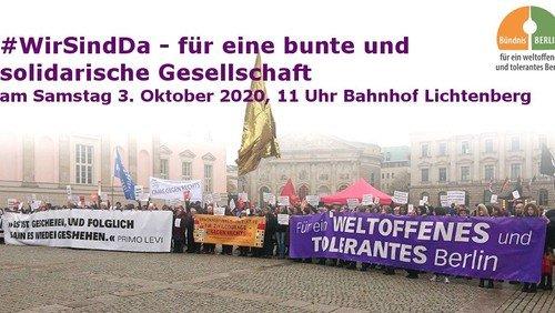 Für ein menschliches, weltoffenes Berlin