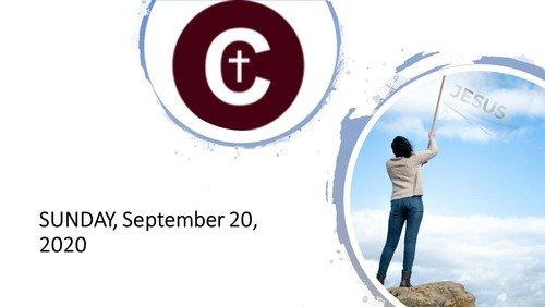 September 20, 2020 Worship Service