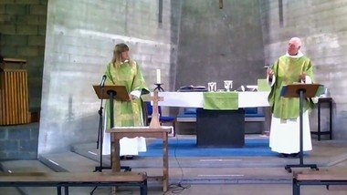 St.George's Eucharist Sunday 20th September.
