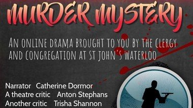 Murder Mystery comes to St John's -  26 September at 7.00pm