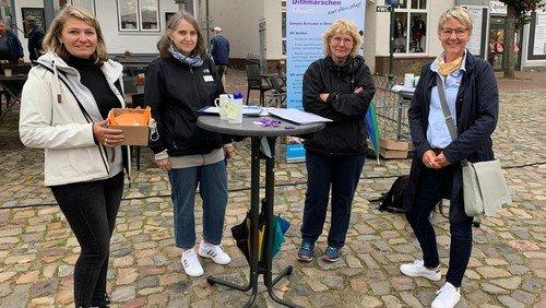 Gute Resonanz auf Info-Aktion in Meldorf