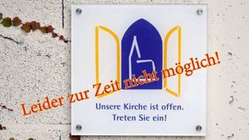 Die Nienstedtener Kirche ist zur Zeit leider nicht an Sonn- und Feiertagen nach dem Gottesdienst für Besucher geöffnet
