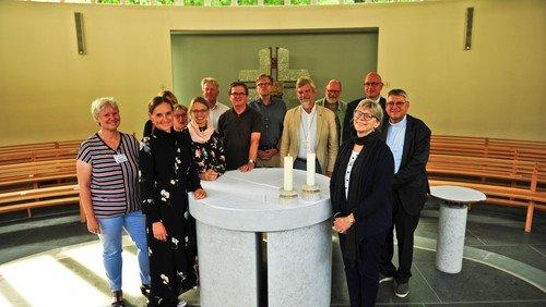 Die evangelisch-lutherische Dänische Volkskirche aus Roskilde zu Besuch auf Rügen