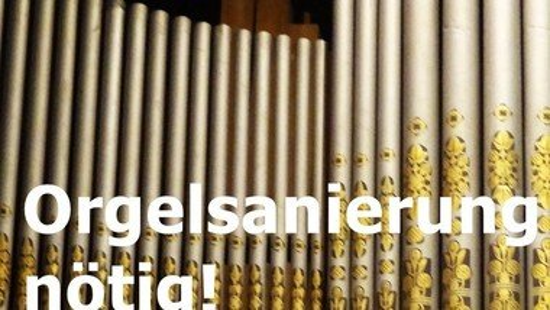Orgelsanierung