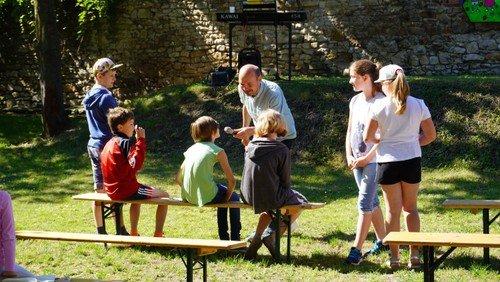 Ein Workshop-Tag zum Basteln, Austoben und neue Freunde finden