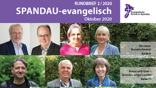 Aktuelle Ausgabe von SPANDAU-evangelisch