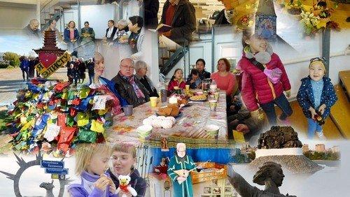 Grüße von der Wolga - aus der Gemeindepartnerschaft Frankfurt (Oder) - Lebus mit Sarepta und Elista