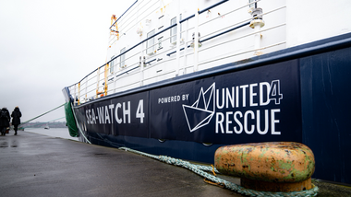 Zoom: Berichte zur Seenotrettung und der Hilfe für Geflüchtete
