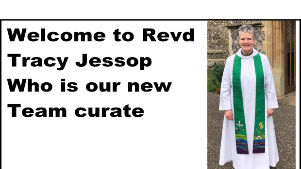 Revd Tracy will be licensed in October