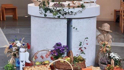 Erntedankfest in Binz