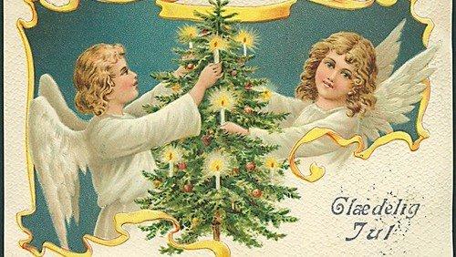 Englen på besøg: Juleaften i radioen