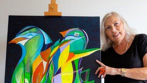 Bodil Blankholms udstilling fortsætter