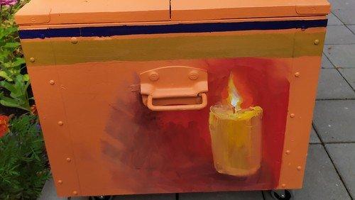 Hoffnungszeichen Kerze