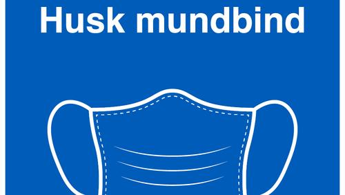 HUSK MUNDBIND I KIRKERNE