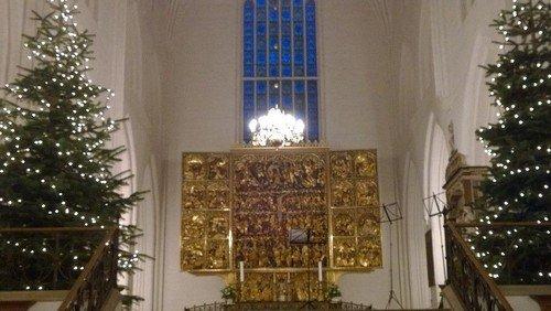 Julens gudstjenester i Odense Domsogn