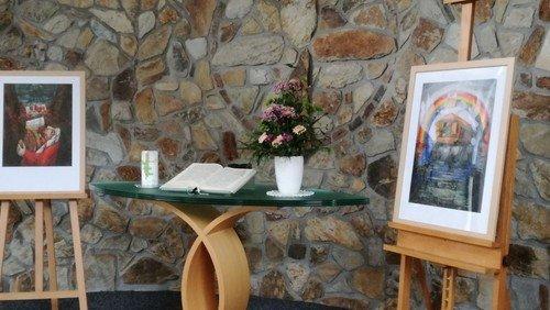 Bildmeditation in der Kapelle Osterfeld