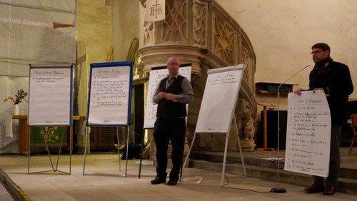Chimäre an St.-Stephani-Kirche in Calbe: Evangelische Akademie Sachsen-Anhalt lud zum öffentlichen Diskussionsabend