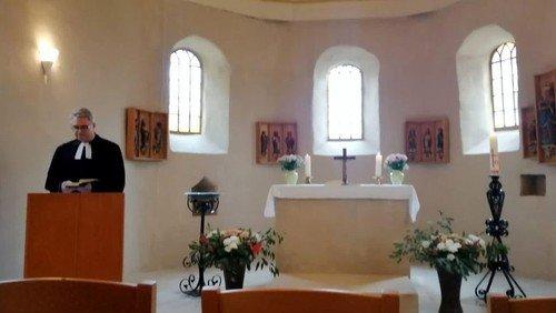 Festgottesdienst in der St.-Martin-Kirche von Eggersdorf