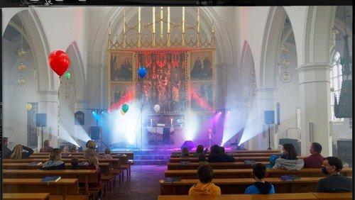 Maskenfest am Reformationstag in Frankfurt (Oder)
