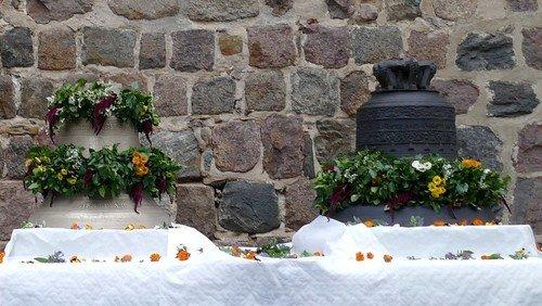 Glockenweihe / Indienststellung der neu gegossenen Glocke für die Klosterkirche Altfriedland