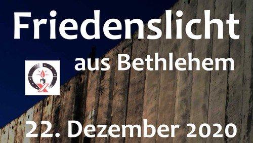 Friedenslicht aus Bethlehem