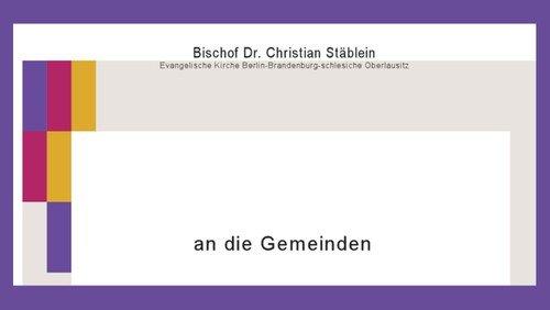 Brief des Bischofs