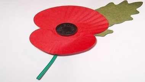Remembrance service November 8th 2020