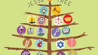 The Jesse tree: characters from Creation to Christmas