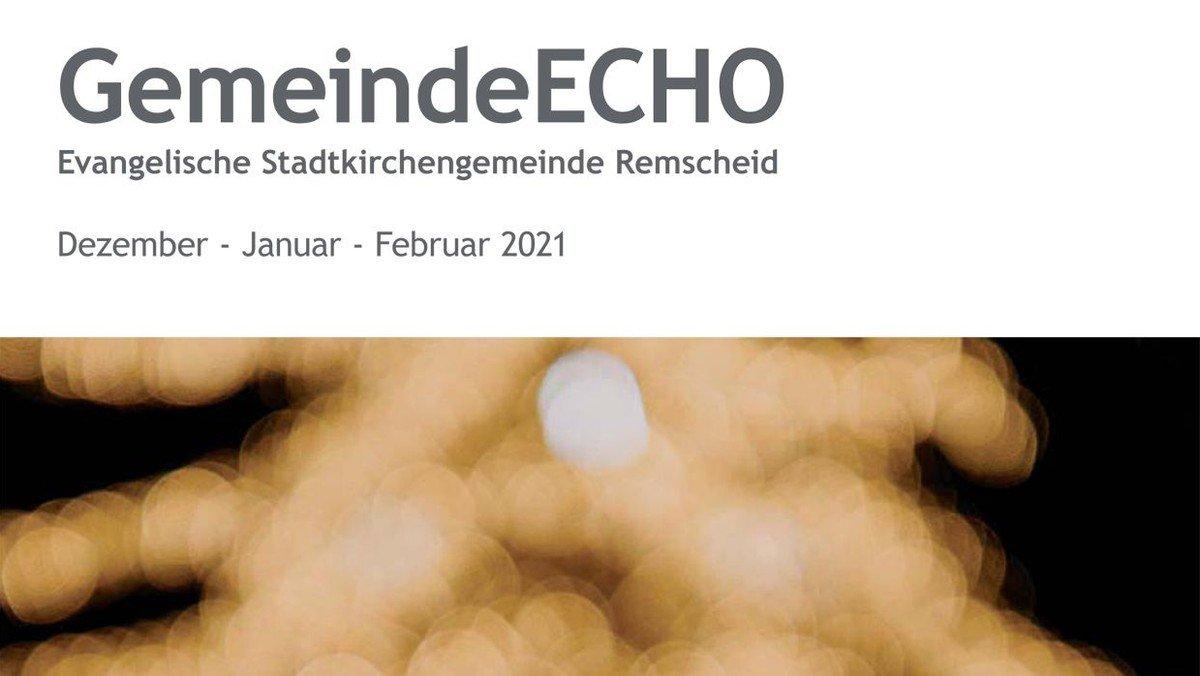 GemeindeECHO 1 2021