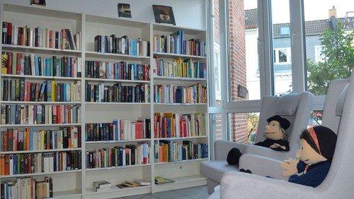Tauschbibliothek ist geöffnet
