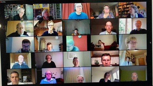Reinickendorfer Kreissynode tagte erfolgreich digital  - Andacht und Beschlüsse