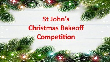 St John's Christmas Bakeoff Competition