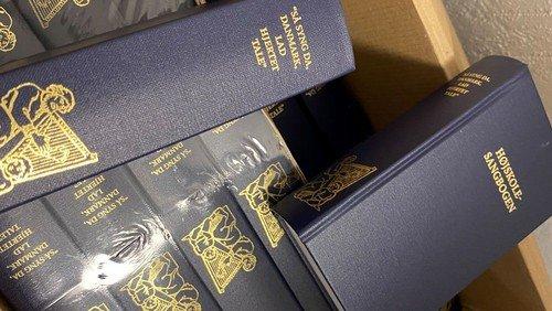 Den nye højskole sangbog er ankommet.