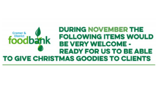 The Foodbank needs our help