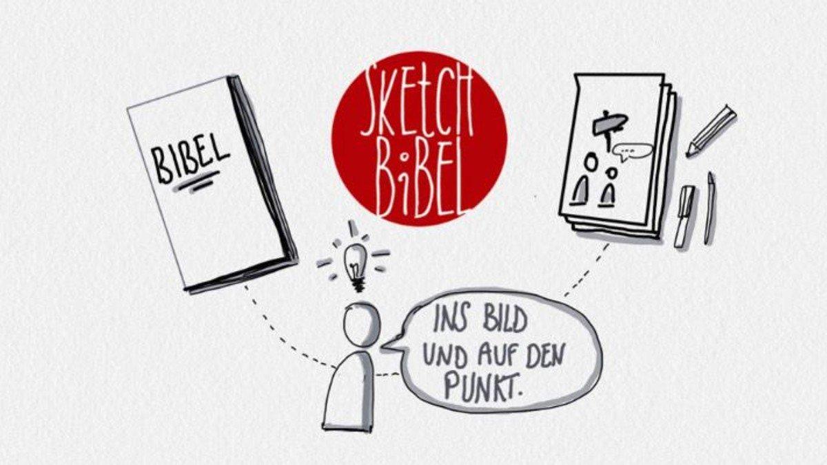 Sketch-Bibel - spiritueller Impuls zu den Sonntagsevangelien in gezeichneter Form