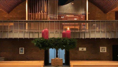 Video-Gottesdienst zum 1. Advent 2020 mit Pastor Martin Ahlers und Kantor Jonas Kannenberg