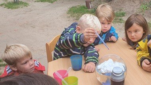 Forschertag im Berglandkindergarten