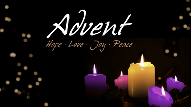 Advent Service Sheet to download.