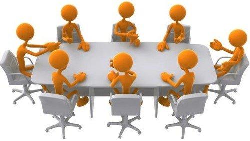 Referat af konstituerende menighedsrådsmøde
