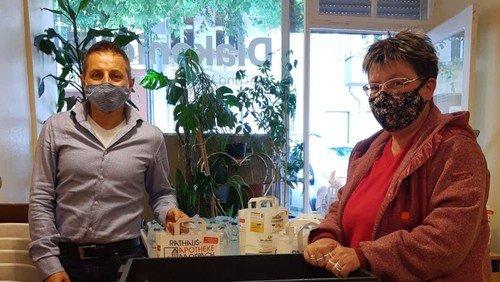 Lunchpakete in Coronazeiten  – Spendenaktion zugunsten wohnungsloser Menschen