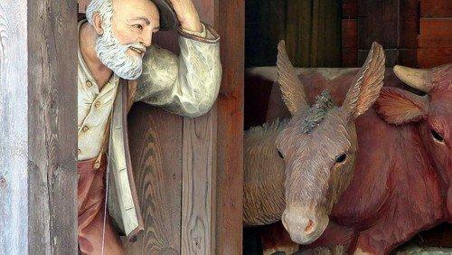 Weihnachtskrippe in der Peter-Paul-Kirche