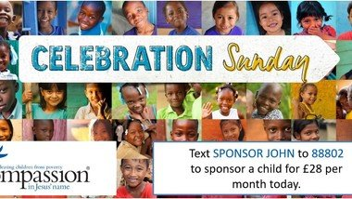 Compassion Celebration Sunday!