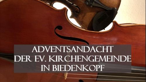Adventsandacht mit Egli-Figuren - Ev. Kirche Biedenkopf